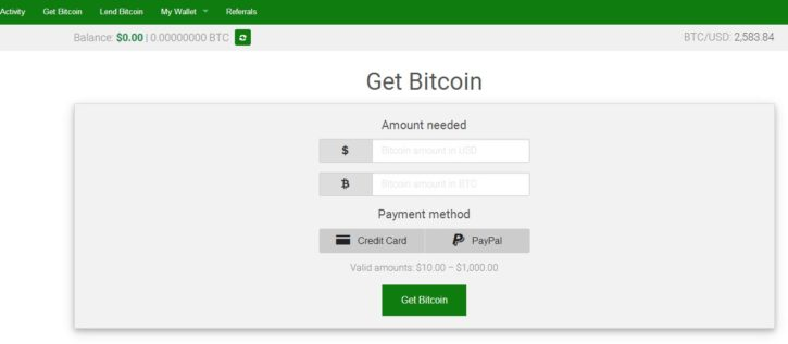 buying bitcoins using paypal on xcoins