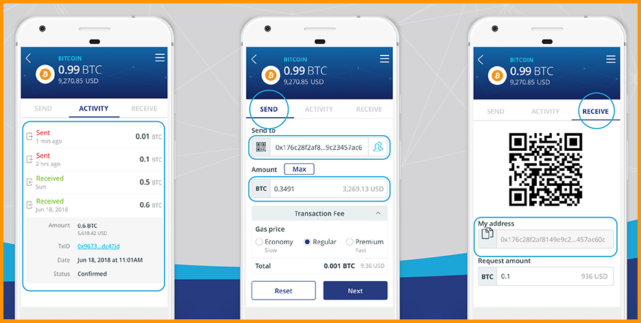 infinito mobile wallet android