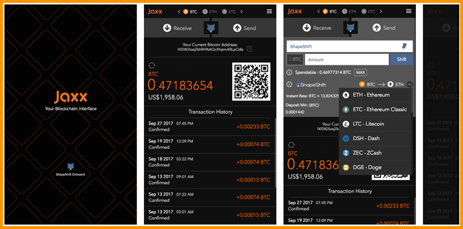 jax wallet for bitcoin