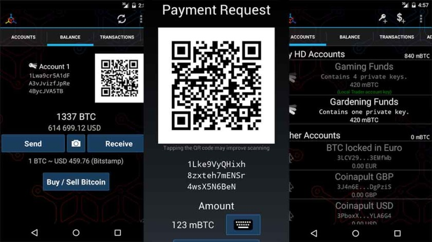 mycelium wallet for android