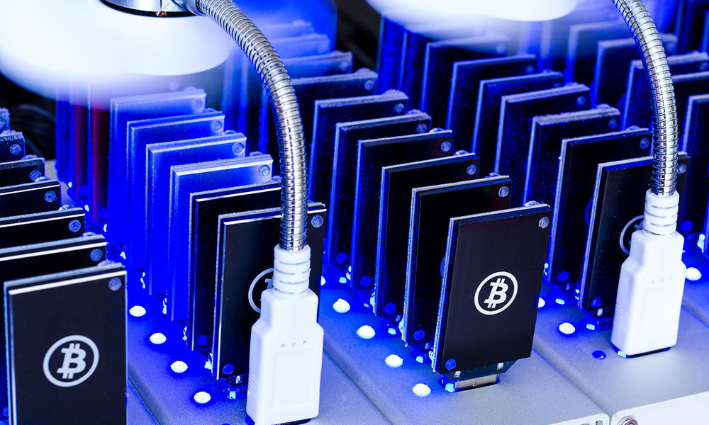 process of bitcoin mining