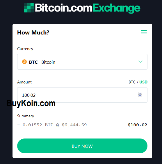 choose currency for buying crypto