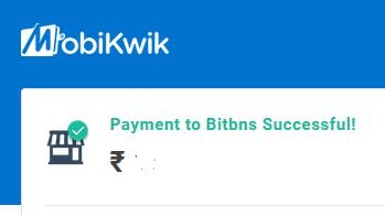 buy bitcoin in India using debit card