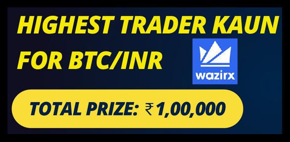 Wazirx highest trader kaun competition