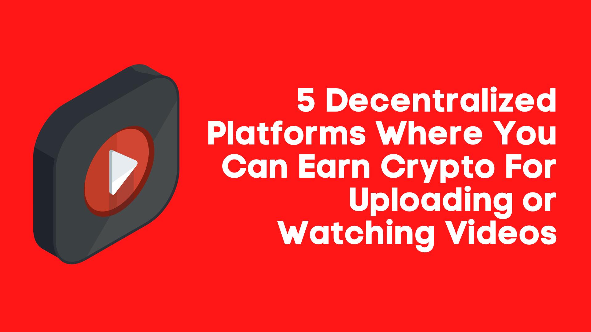 earn bitcoins watching video
