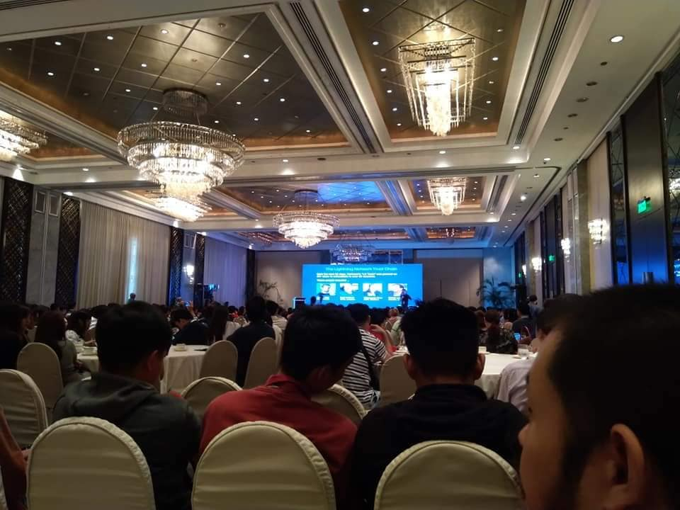 Tokennews conference 2019 at Peninsula
