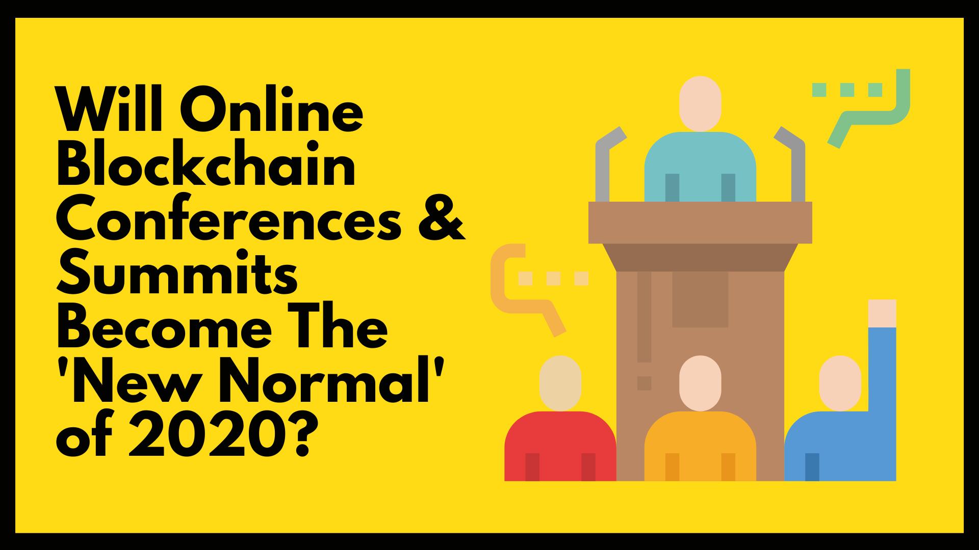 blockchain new normal