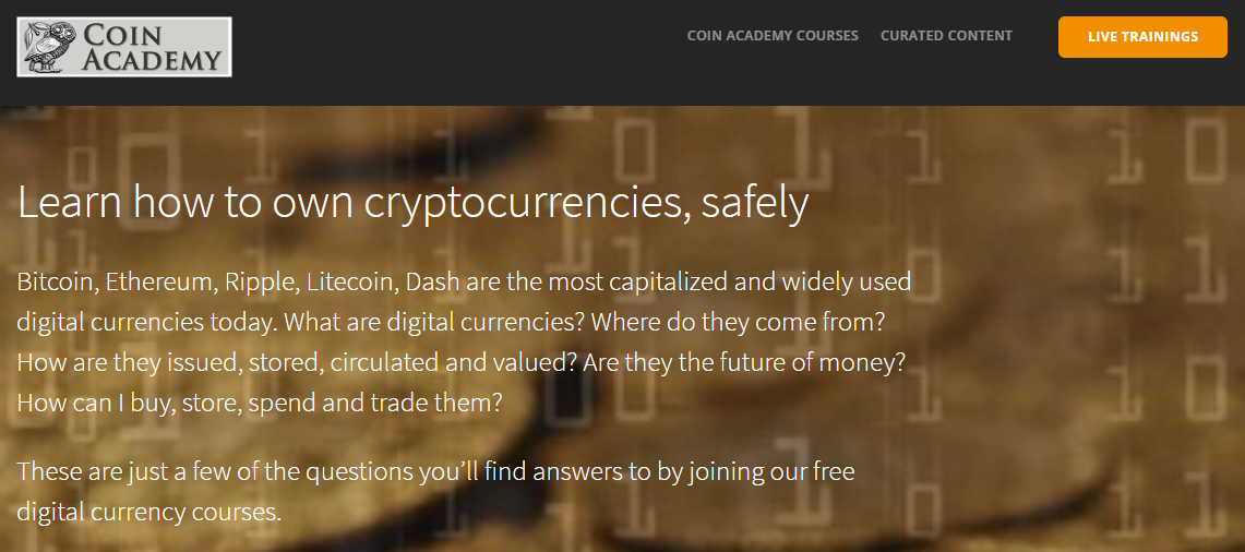 coinacademy.co bitcoin trading learning course