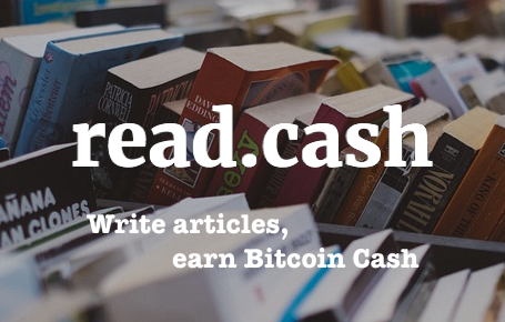 read.cash earn crypto by blog posting
