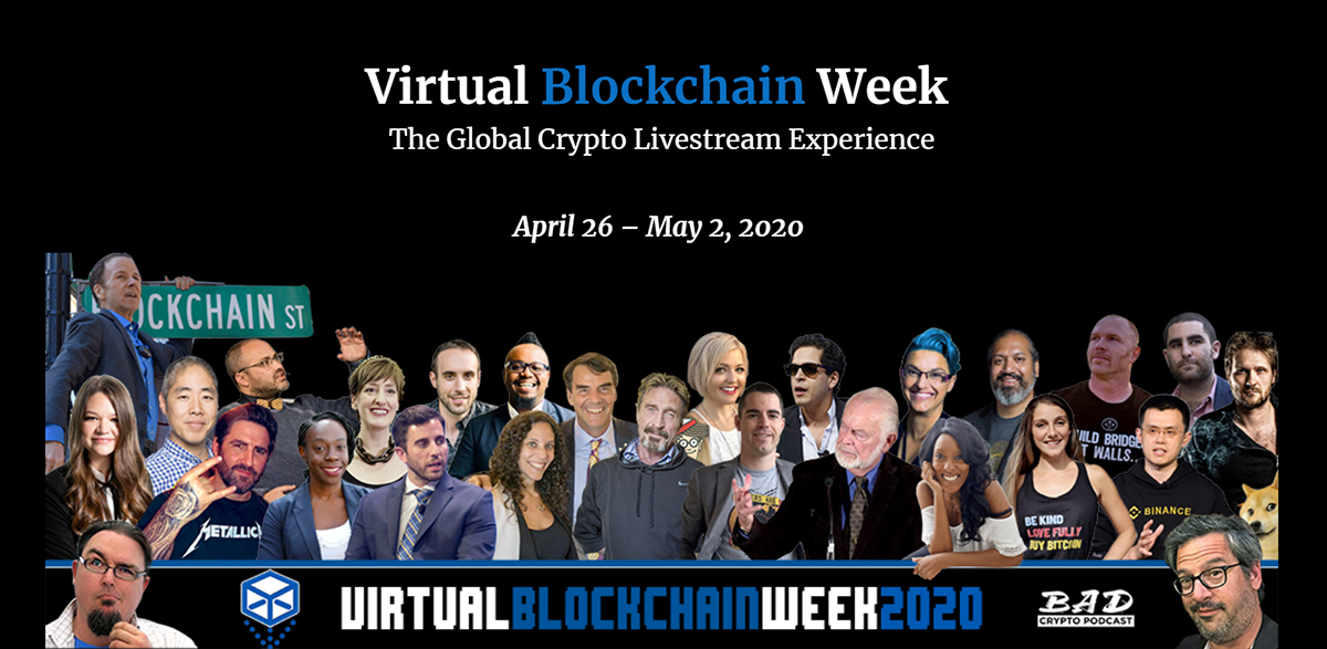 Virtual blockchain week